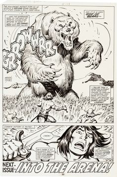 John Buscema and Ernie Chan Conan the Barbarian No. 109 Story Page | Lot #12025 | Heritage Auctions