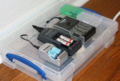 DIY Battery charging station
