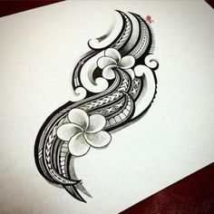 Tribal tattoos are of antiquity and had a deep meaning. Tribal tattoos can be described as designs that represent the traditional practices of indigenous peoples from different parts of the world. Hawaiianisches Tattoo, Tattoo Motive, Samoan Tattoo, Tattoo Drawings, Tattoo Maori, Thai Tattoo, Tribal Tattoo Designs, Tribal Tattoos For Women, Tribal Butterfly Tattoo