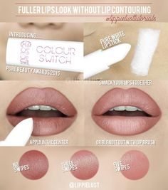 HOW TO CREATE FULLER LIPS LOOK (without using contouring technique!)