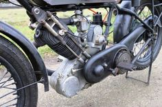 P&M Panther 500cc OHV 1925 flattanker engine and gearbox overhauled