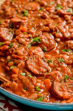 Slimming Low Syn One Pot Sausage and Lentil Casserole Slimming World Sausages, Slimming World Soup Recipes, Slimming World Dinners, Slimming Eats, Slimming World Sausage Casserole, Sausage Casserole Slow Cooker, Lentil Casserole, Sausage Meat Recipes, Beef Recipes