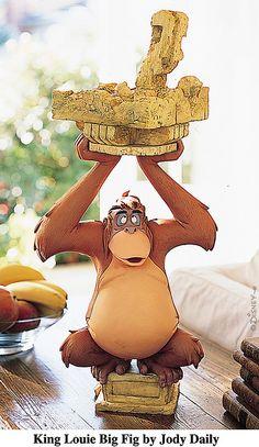*KING lOUIE ~ Jungle Book, figurine by: Jody Daily