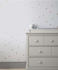 Gold Spot Self Adhesive Wallpaper