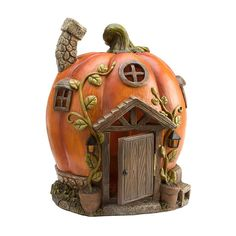 Enchanted Fairy Pumpkin House | Childrens Gardening