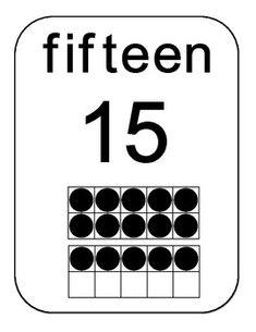 Ten Frames 0 to 20 - Template (no border)