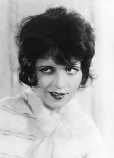 Clara Bow (1925) Love the short hair, but probably never again unless I get *really* ticked off.
