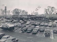 INGLESIDE SHOPPING CENTER 1950s / ROUTE 40