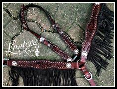 Custom fringed tack set