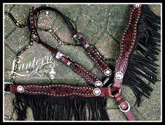 Custom fringed tack set