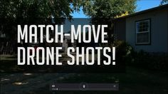 Match-Move Drone Shots in Resolve! - Resolve 14 Tracking Tutorial