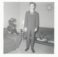 Wally Neumann in a suit 196?