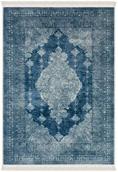 Pearly Blue Area Rug - La Dole Rugs #blue #white #mandala #boho #rug #traditional #stylish Traditional Area Rugs, Rugs Online, Blue Area Rugs, Contemporary, Modern, Oriental, Mandala, Texture, Boho