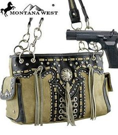 MW-SLSG8085-Tan Western Concealed Purse by Montana West