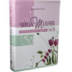 A Bíblia da Mulher – Leitura, Devocional, Estudo – GRANDE -CAPA TULIPA III