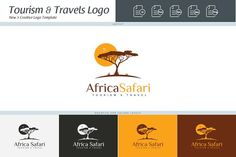 Africa Safari Logo Template by DesignCastle on @Graphicsauthor