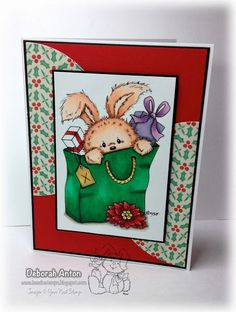 Rosie Rabbit Gift  - Your Next Stamp
