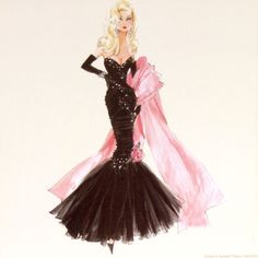 I had so many Barbies growing up. Controversial or not, I was always a huge fan :)