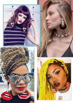 Trend Alert • Maxi Brinco de Acrílico – Chique de Bonito