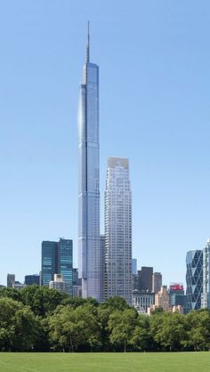 Official Image Released Of New Yorks Foot Nordstrom - The Designs Of The Nordstrom Tower In New York The Worlds Tallest Residential Building At Feet Tall Have Been Revealed To New York Yimby By An Anonymous Tipster Close To The Project Futuristic Architecture, Amazing Architecture, Art And Architecture, Amazing Buildings, Modern Buildings, Future Buildings, Tower Building, Commercial Architecture, Adrian Smith