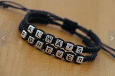 His & Hers Forever Always Couples Bracelet Lovers Braclet Friendship CP-441  | eBay