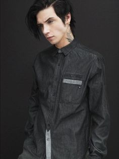 Andy Biersack Konus Brand Fall 2015 Lookbook ❤️