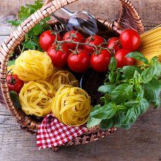 Italian food pasta ingredients by Lana_M