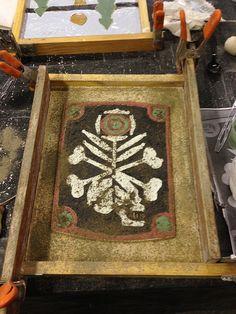 Moravian Tile Class by Home&HearthMasonry, via Flickr