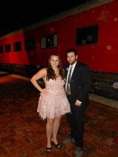 Kansas Belle Dinner Train in Baldwin City, Kansas. Great food, fun murder mystery show, all around great time!
