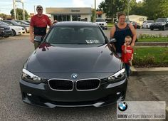 Meet Gary Ballentine, his wife Rebecca & son Nicholas, from Baker, FL. They're taking home this beautiful 2014 @bmw 328i, and we couldn't be more thrilled. Congratulations! #bmwfwb #happyclientsmakeourday