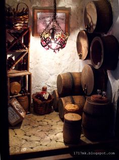 Miniature Wine Cellar,  Custom Order, groomsmen gift by MiniatureDesigner on…