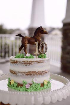 Birthday cake on the topic of Breyer Horse. Horse Theme Birthday Party, 8th Birthday Cake, Horse Party, Themed Birthday Cakes, Farm Birthday, Themed Cakes, Cowgirl Birthday Cakes, Birthday Ideas, Cowgirl Cakes
