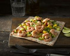 Chilli and Lime Prawns Wrap recipe | Newburn Bakehouse