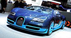 Bugatti Drops the Lid off 1,200PS Veyron Grand Sport Vitesse in Geneva