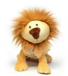 Jumbo Zoobie Pets Lencho the Lion (JZ104)