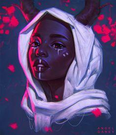 Ideas For Digital Art Girl Fantasy Character Inspiration Drawing Faces, Cute Drawings, Drawing Women, Pretty Art, Cute Art, Character Inspiration, Character Art, Arte Alien, Fantasy Portraits
