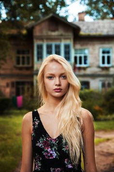"""Riga, Latvia. Michaela Noroc photographed Women From 37 Countries To Show That Beauty Is Everywhere. """"The Atlas Of Beauty"""". A photographer from Romania that quit her job and started a new life."""