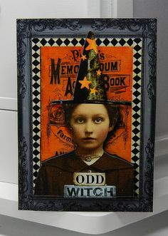Odd Witch II - traded to Lisa by Terri Daugherty, via Flickr