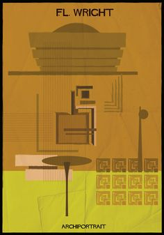 We are always happy to see a new series of Architecture-themed illustrations from Italian artist Federico Babina. Le Corbusier, Zaha Hadid, Oscar Niemeyer, Architecture Tools, Famous Architects, Famous Words, Frank Lloyd Wright, Italian Artist, Creative Portraits