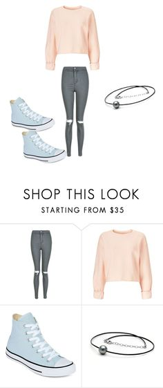 """""""Untitled #448"""" by austynh on Polyvore featuring Topshop, Miss Selfridge and Converse"""