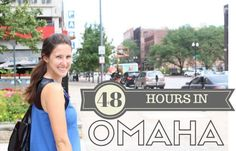 Visit Omaha: How I spent 48 hours in Omaha. --> (A guide on where to eat in Omaha, what to do in Omaha, and where to Stay in Omaha. #VisitOmaha  >>> Great article on the best of Omaha, Nebraska. Check it out before you travel to Omaha! <3