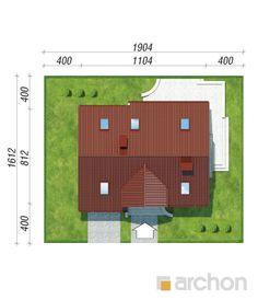 Будинок в портулаках ver.3 | archon.com.ua Floor Plans, House, Home, Homes, Floor Plan Drawing, Houses, House Floor Plans
