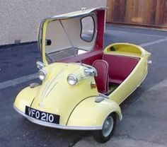 The Messerschmitt in Lincolnshire, UK @ The Bubble Car Museum, which is dedicated to the microcar.