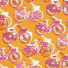 Cotton Bike Be Happy 4 - Cotton Fabricsfavorable buying at our shop