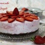 Cheesecake alle fragole – senza cottura e senza colla di pesce