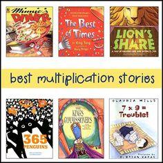 great kids books for teaching multiplication!