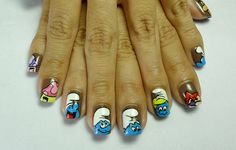50 Mind Blowing Designs of Nail Art