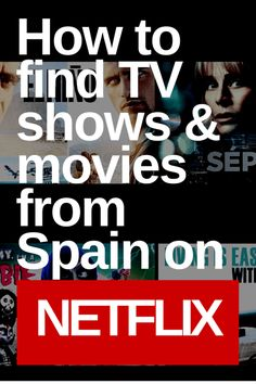 How to Easily Find Movies from Spain on Netflix, TV shows from Spain on Netflix using Category ID codes!