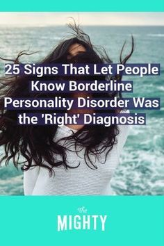 The Mighty's BPD community shares signs that let them know borderline personality disorder was the correct diagnosis. Borderline Personality Disorder Diagnosis, Boarderline Personality Disorder, Narcisstic Personality Disorder, Personality Quotes, Personality Types, Psychotic Depression, Depression Symptoms, Bipolar Symptoms, Mental Health Disorders