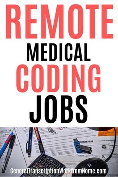 Medical coders earn an average salary of around $40,350 per year. Medical coding and billing is an excellent career that is in high demand. Find out how to get started + learn about 20 companies that hire for remote medical billing and coding jobs. #medical #billing #coding #coder #healthcare #workfromhome #workathome #career #job #work #remote Transcription Jobs From Home, Medical Coder, Medical Billing And Coding, Medical Careers, Online Side Jobs, Best Online Jobs, Legitimate Work From Home, Work From Home Jobs, Coding Training